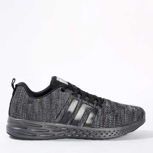 Mens Grey Running Sneakers