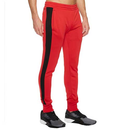 Mens Red Joggers