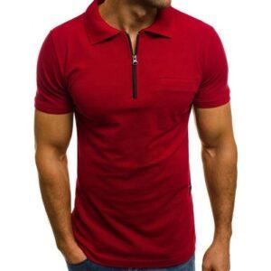 Wholesale Men's Red Tee