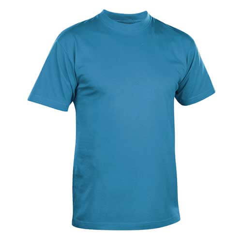 Mens Sky Blue Roundneck T shirt