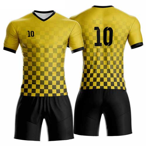 Mens Yellow Black Jersey