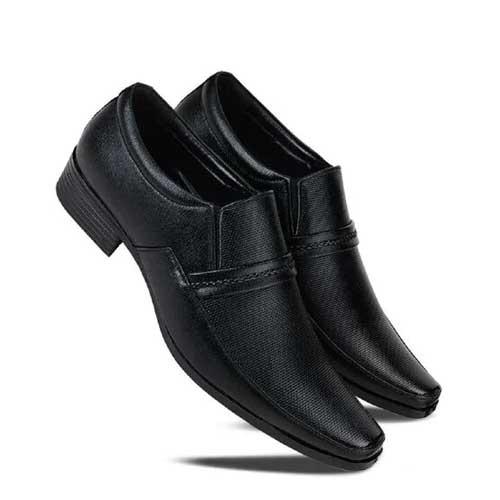 Mens black formal shoe