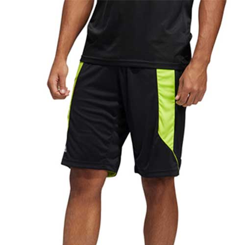 Mens black workout shorts