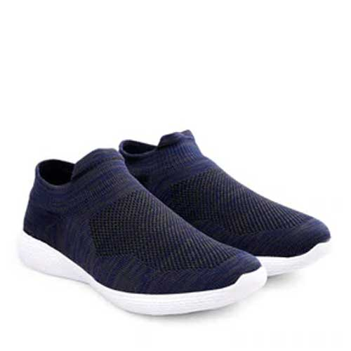 Mens blue casual sneakers