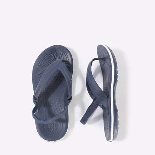 Mens blue flip flops