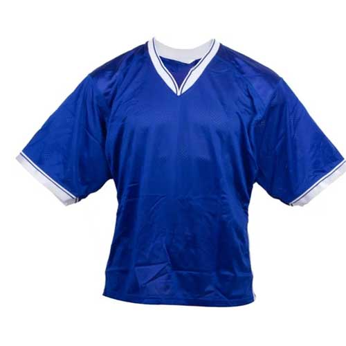 Mens blue jersey t shirt