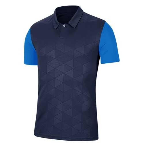Mens blue jersey tee