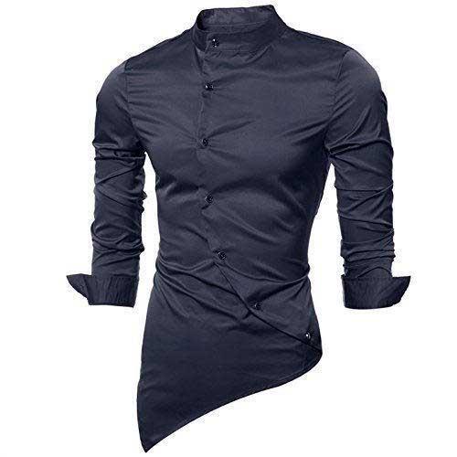 Mens blue luxe shirt