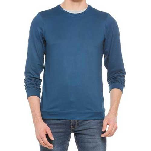 Mens blue sweatshirt 1