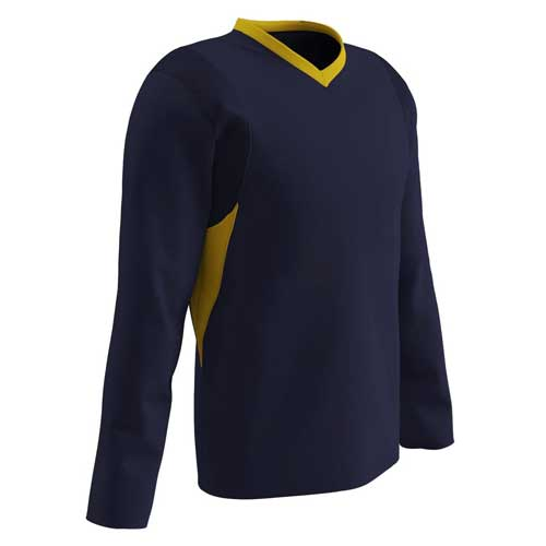 Mens dark blue fullsleeved tee