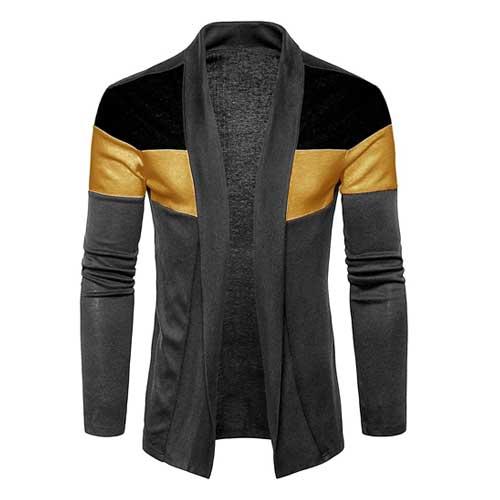 Mens dark neutral jacket