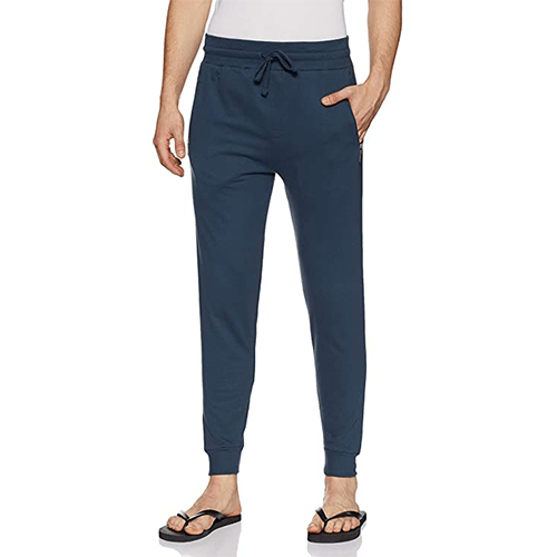 Mens faded blue tapered pajama