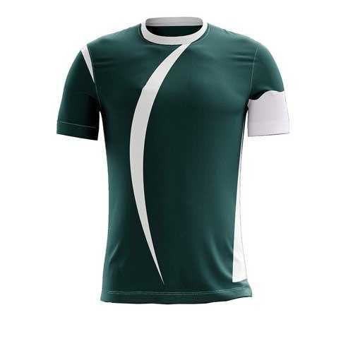 Mens green jersey tee