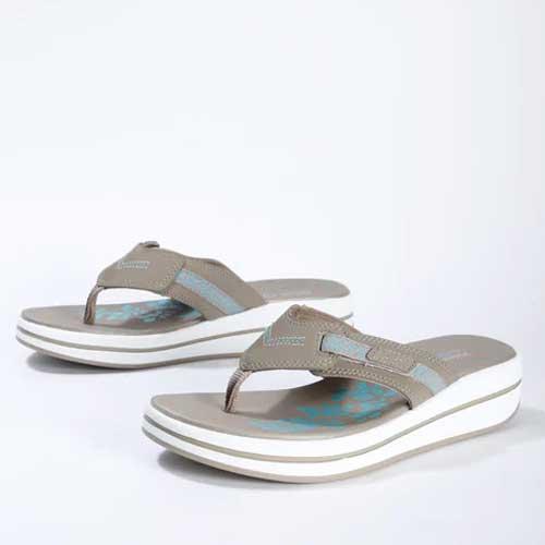 Mens grey flip flop