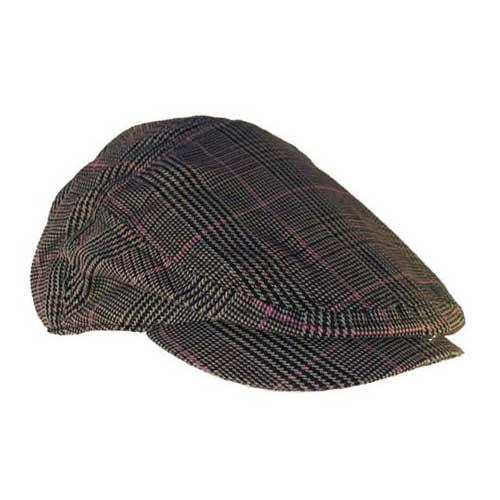 Mens grey golf cap