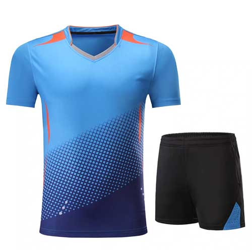 Mens jazzy blue jersey set