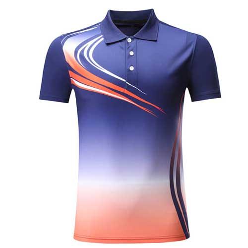 Mens multicolor jersey t shirt