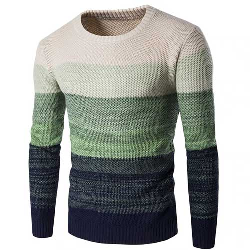 Mens neutral colored sweater