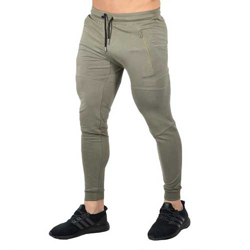 Mens neutral workout joggers