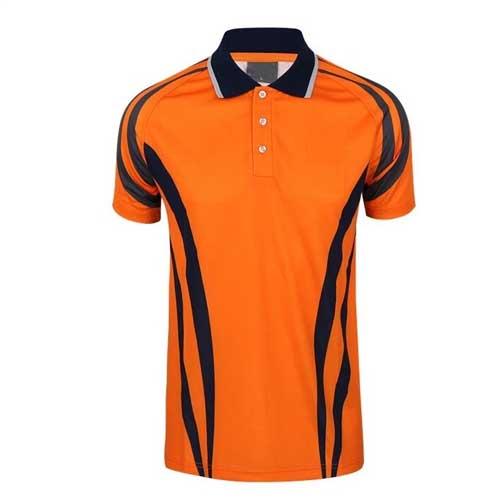 Mens orange t shirt