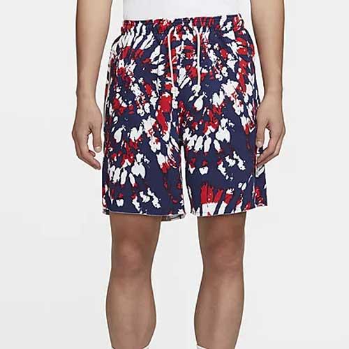 Mens printed basketball shorts