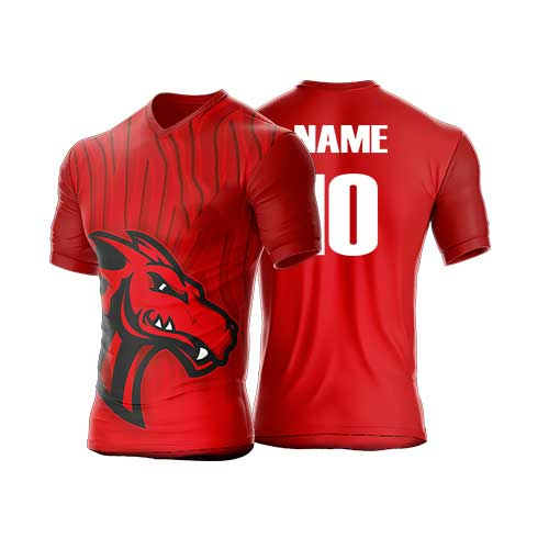Mens red jersey