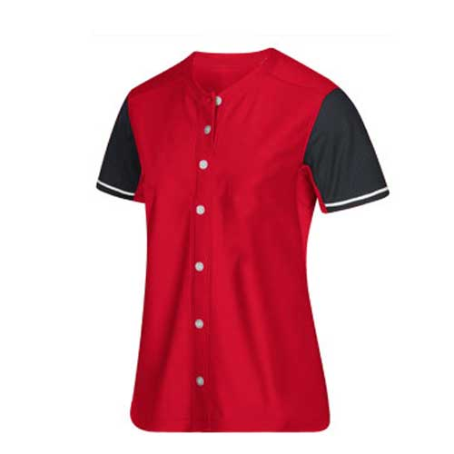 Mens red sports t shirt