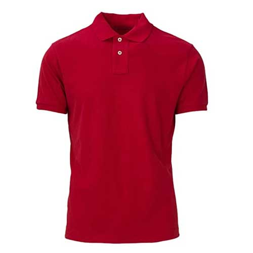 Mens red t shirt 1