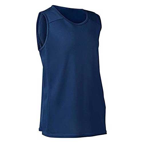 Mens sleeveless blue tee 1