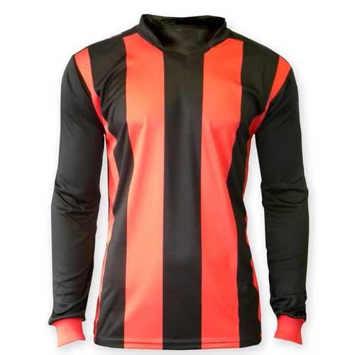 Mens striped jersey t shirt