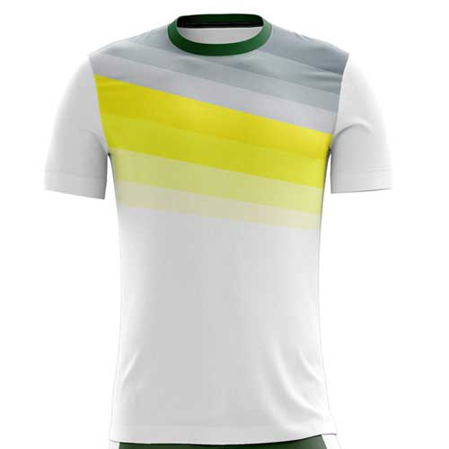 Mens white jersey tee