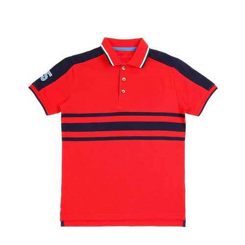 Toddlers red blue tee