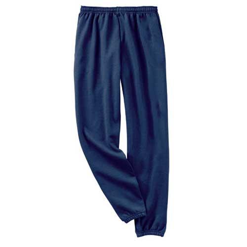 Unisex blue cozy trouser