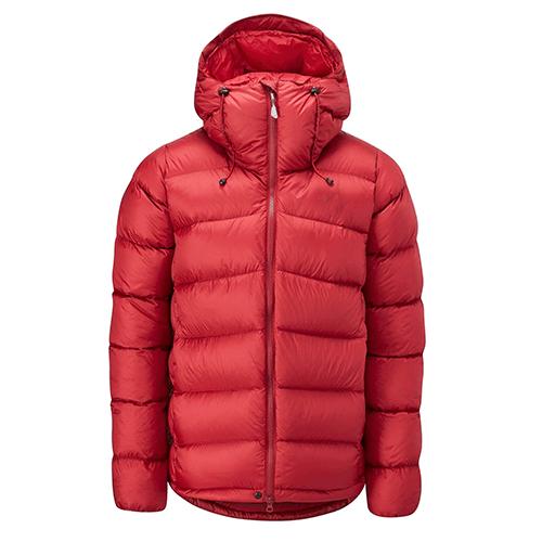 Unisex red puffer jacket