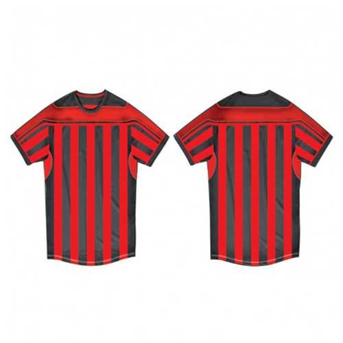 Unisex striped sports tee