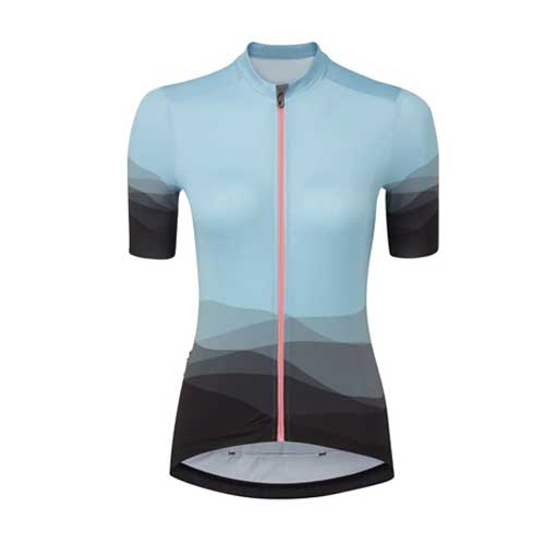 Womens Blue Compression Top