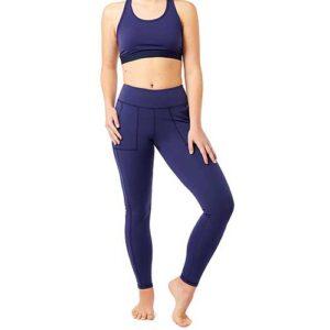 Women's Blue Workout Set Manufacturer