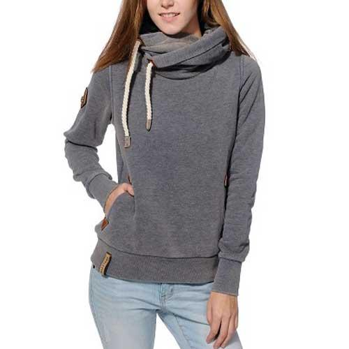 Womens Grey Hoodie
