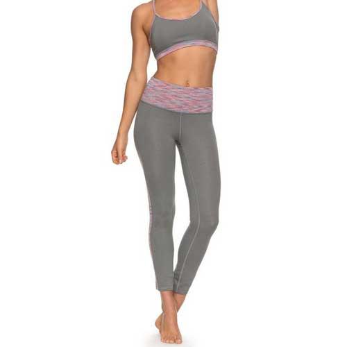 Womens Grey Seamless Workout Set
