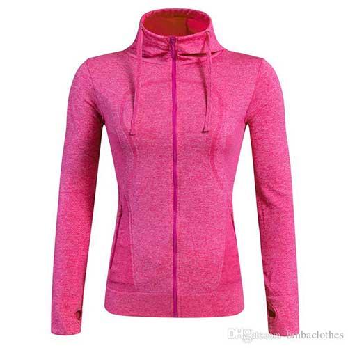 Womens Neon Pink Jacket