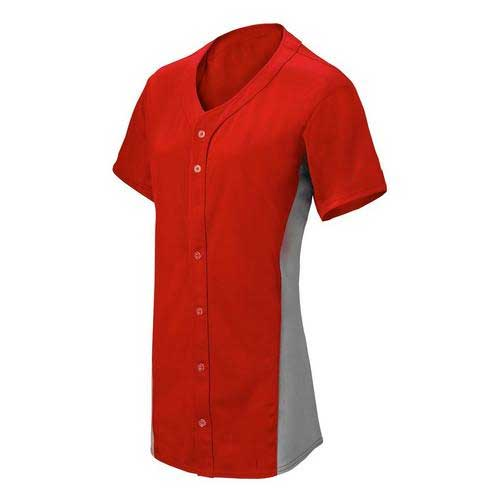 Womens Red Long Top