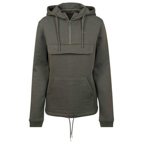 Womens ash grey hoodie