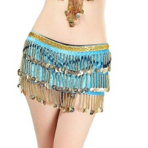 Womens belly dance jazzy scarf