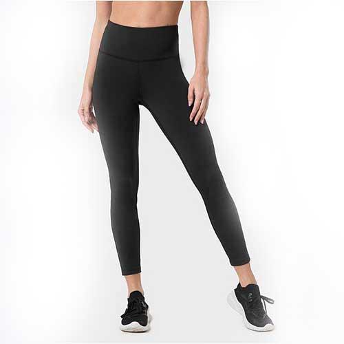 Womens black 7 8th leggings