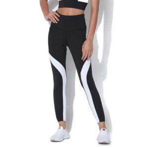 Wholesale Women's Black & White Fitness Leggings