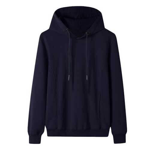 Womens blue hoodie