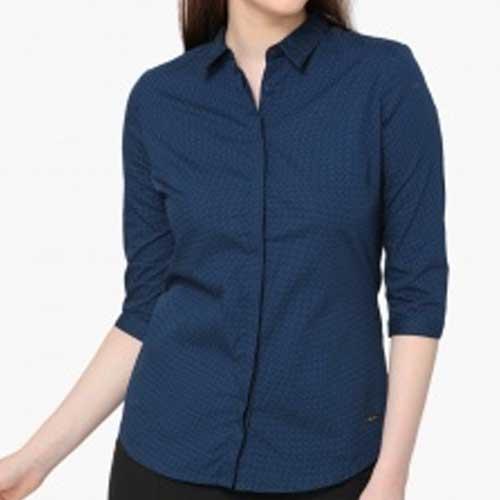 Womens blue shirt 1