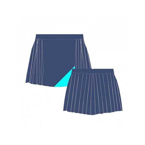 Womens blue sports skirts