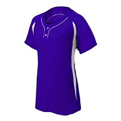 Womens blue workout tee
