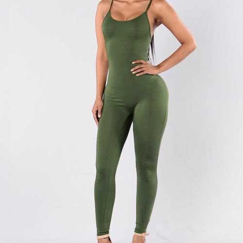 Wholesale Women's Bodycon Jumpsuit Manufacturer